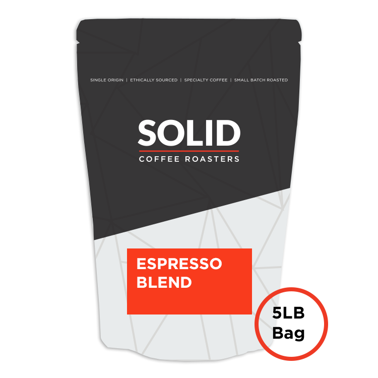 Image of Espresso Blend 5lb Bag of Coffee from Solid Coffee