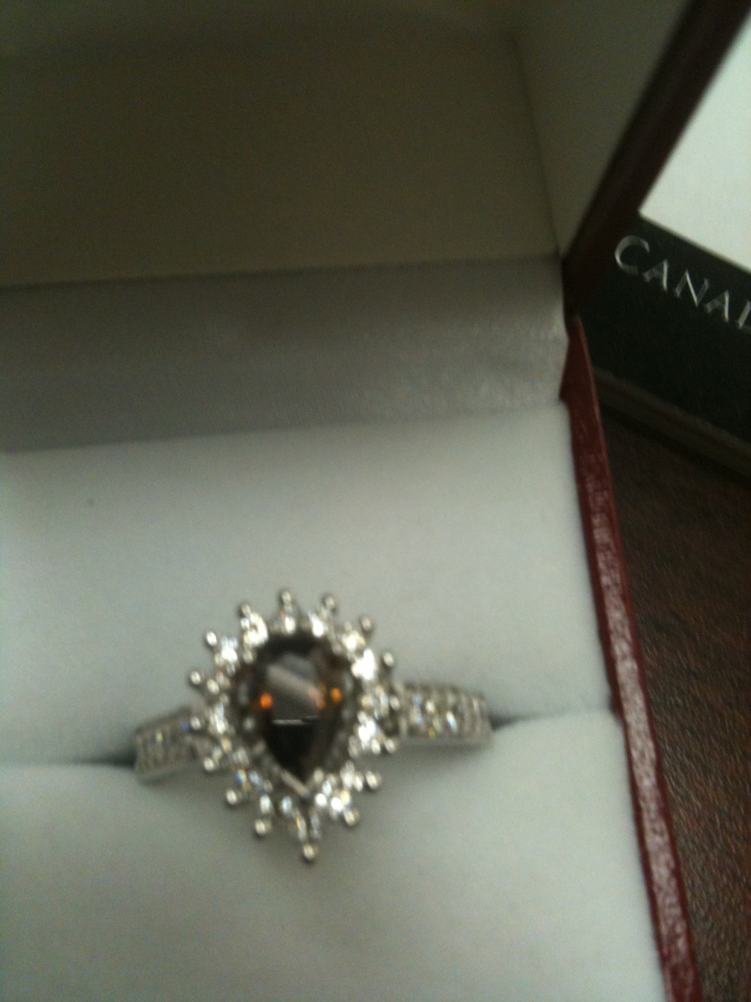 This a ring with diamonds etc
