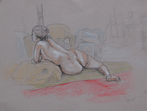 RHA School 2011 - Life Drawing 3