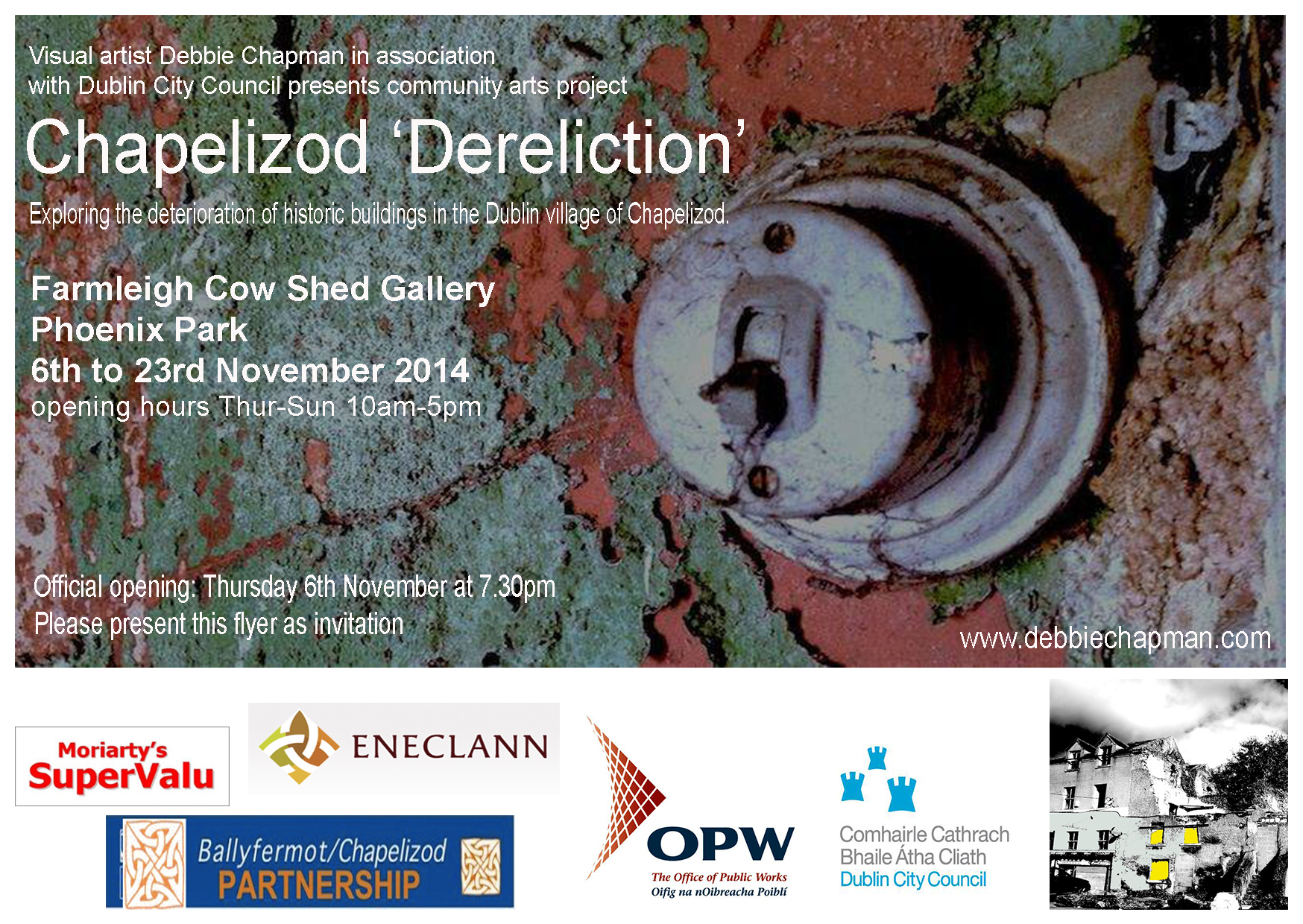 Chapelizod Dereliction Invite