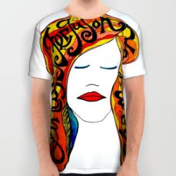Lindsay Ferguson Chameleon Tshirt
