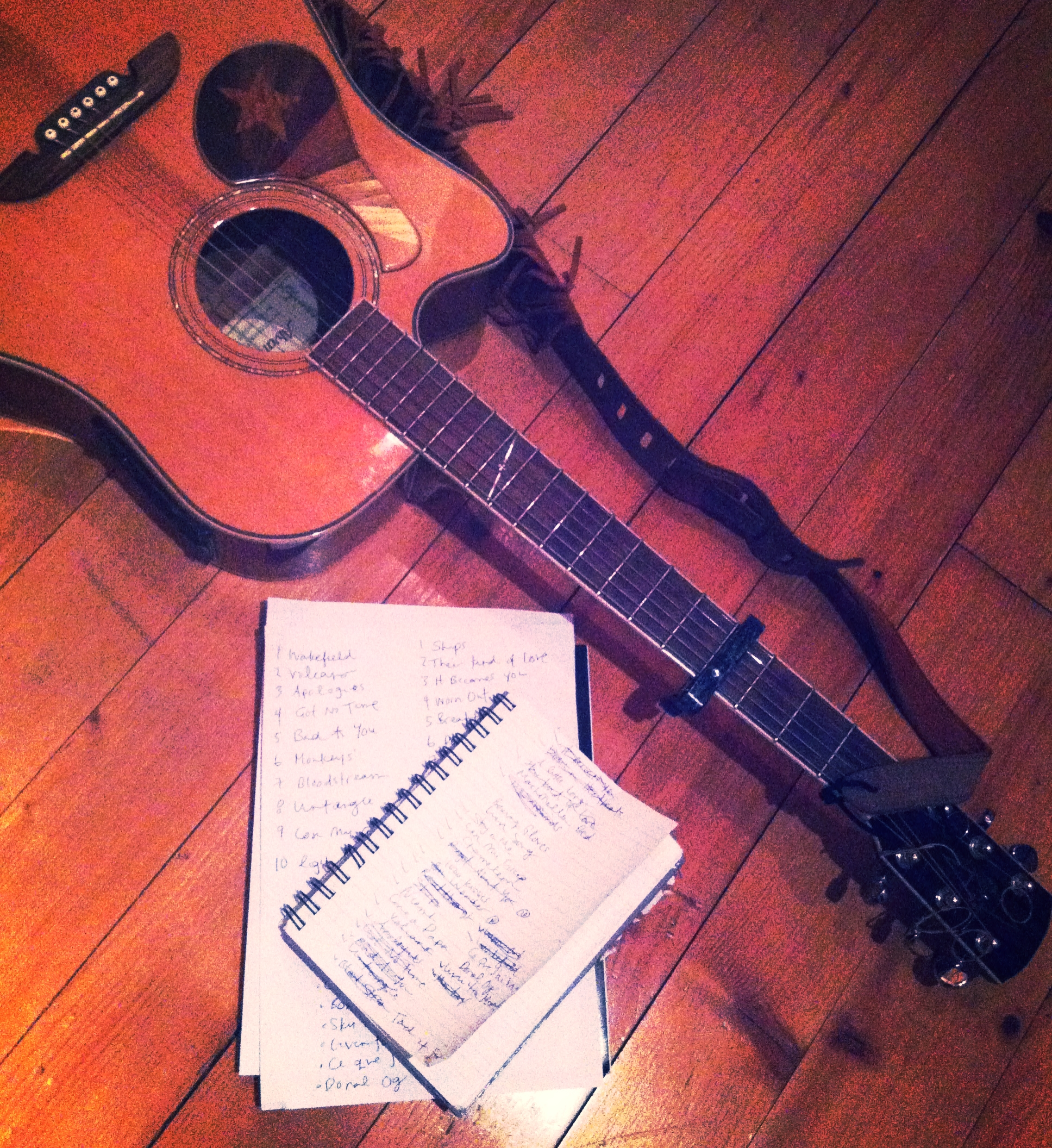 Some_notes_a_book_and_a_guitar