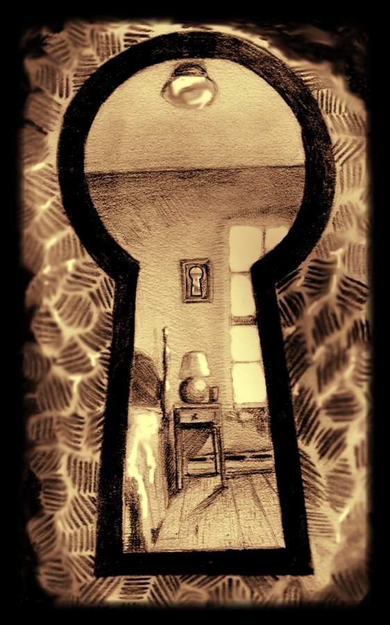 Through_the_keyhole