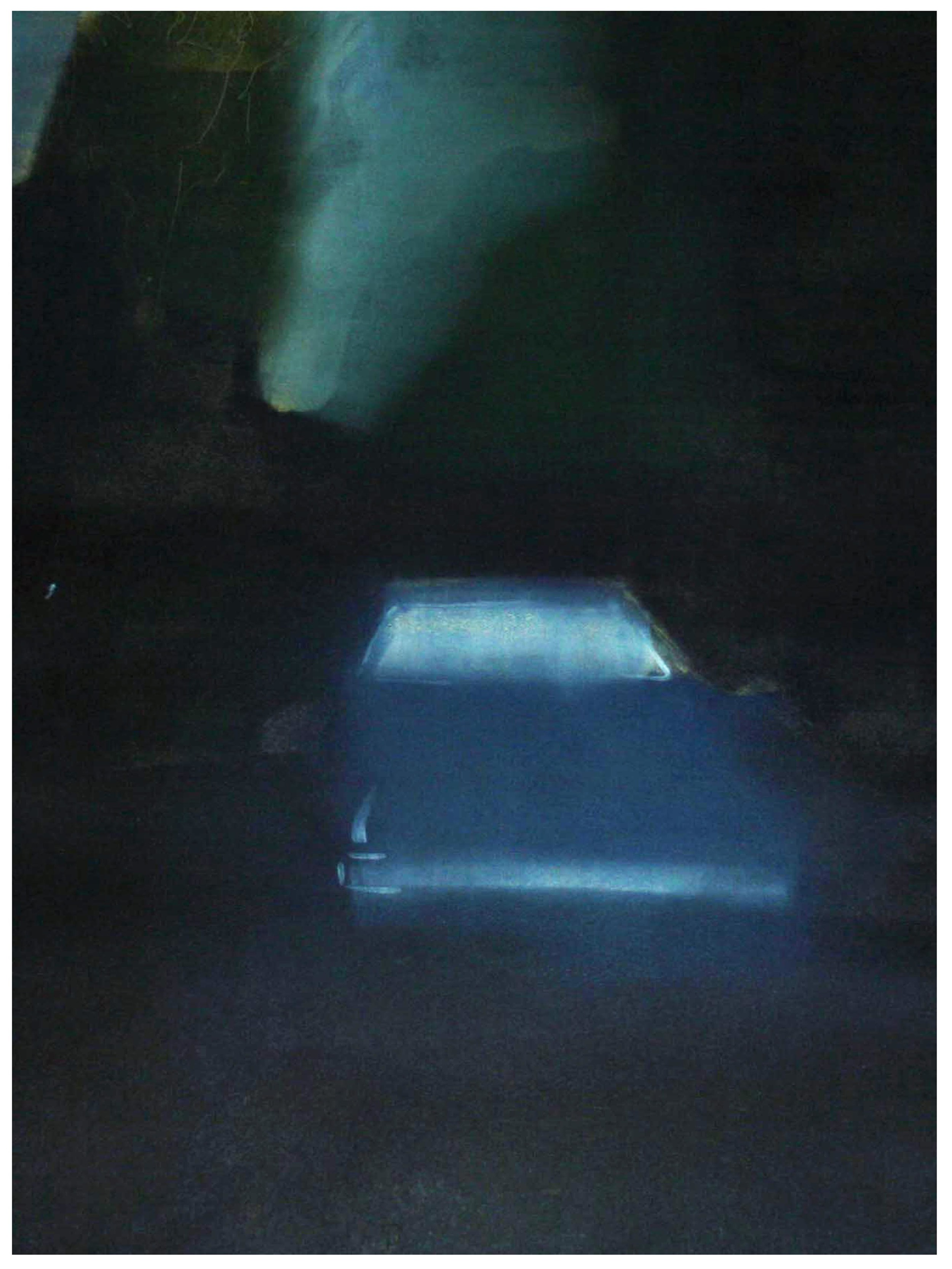 Can I drive you the long way home  Monoprint 81cm x 61cm