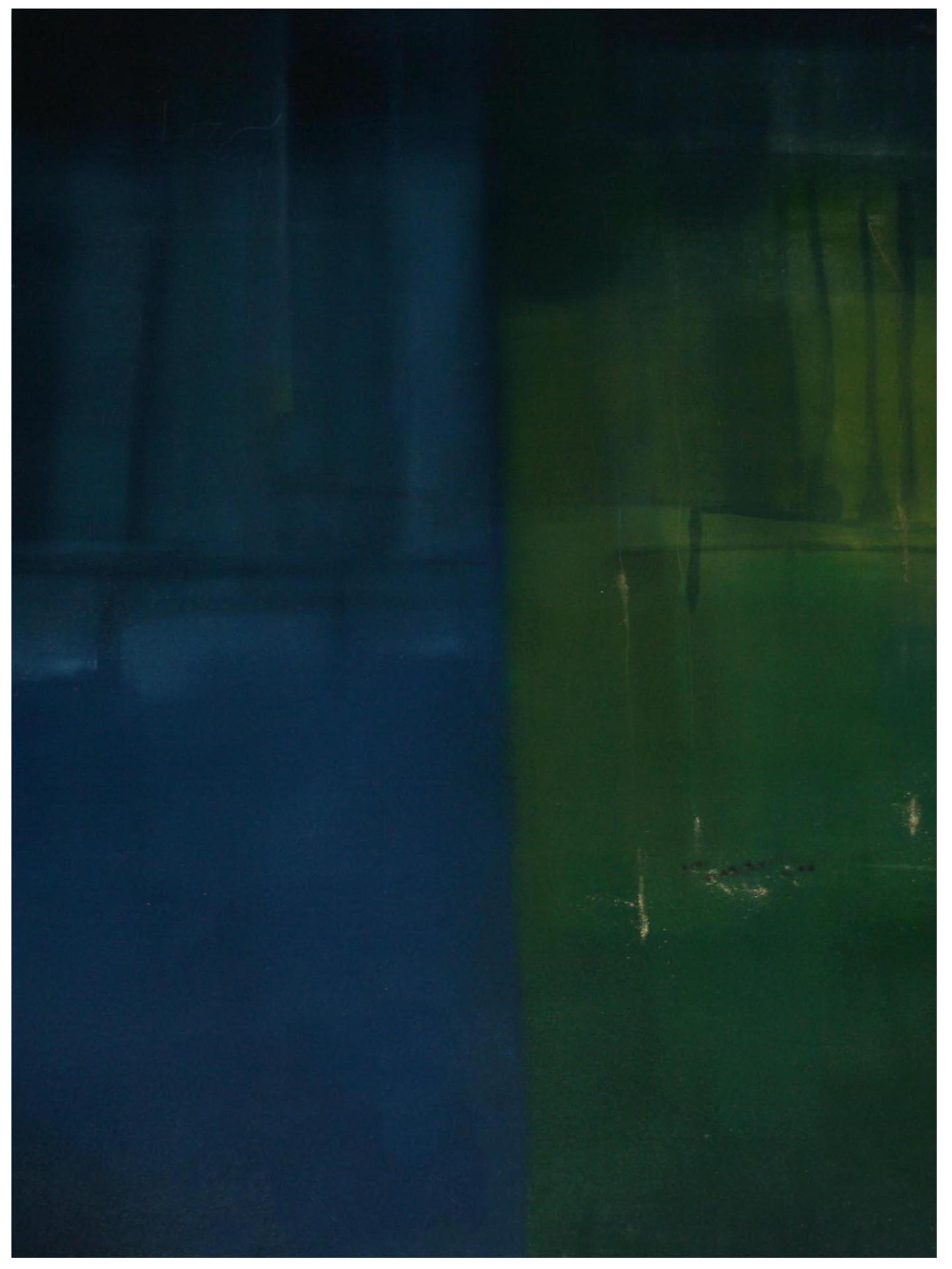 Deep Sea Silence Monoprint 81cm x 61cm
