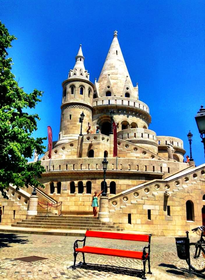 Beside Buda Castle