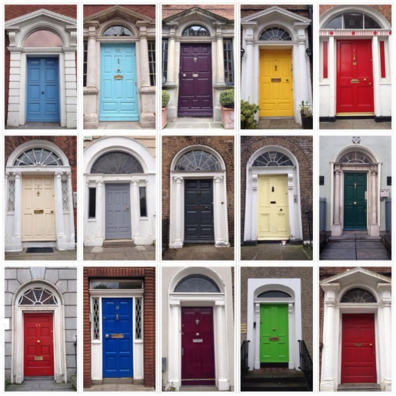 The Doors of Dublin!