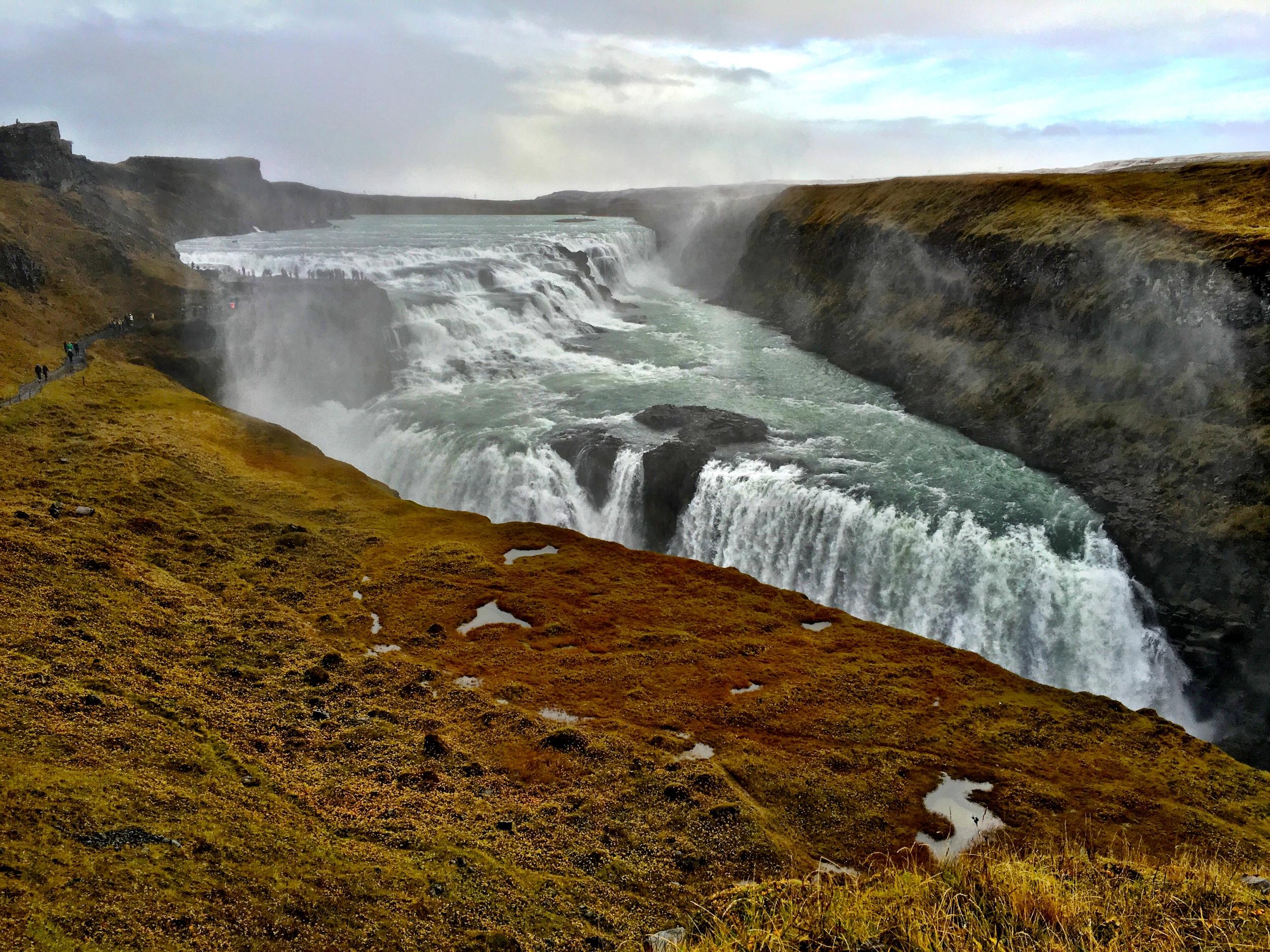 Gulfoss Waterfall-The Golden Circle