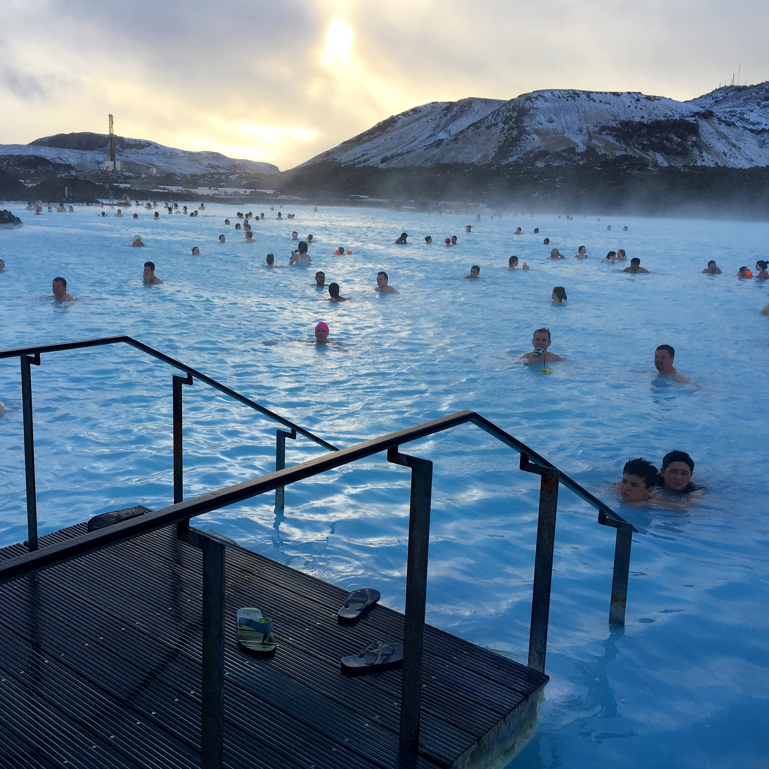 The Blue Lagoon-A MUST SEE when in Iceland