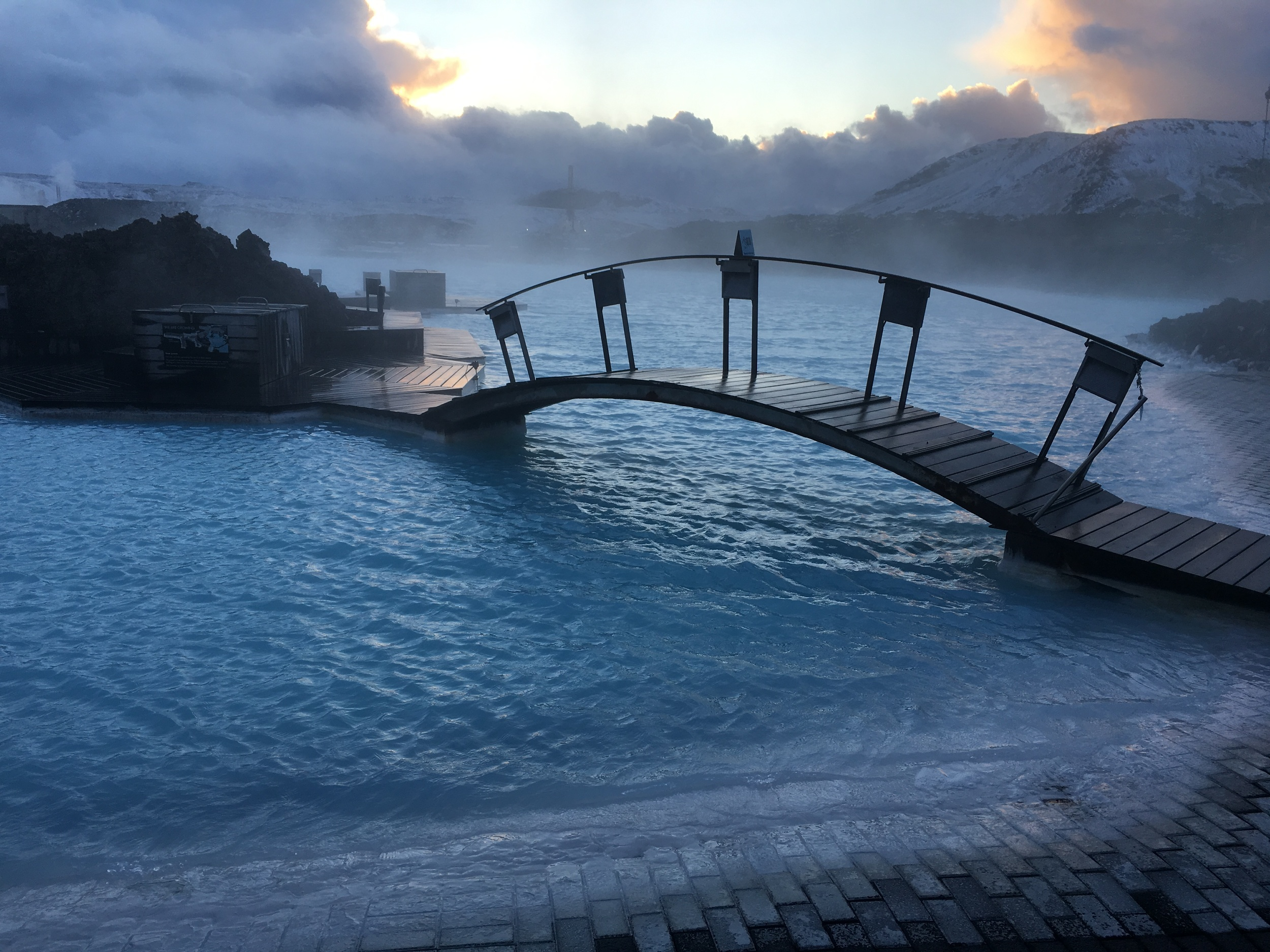 The Blue Lagoon- One of the wonders of the world!!