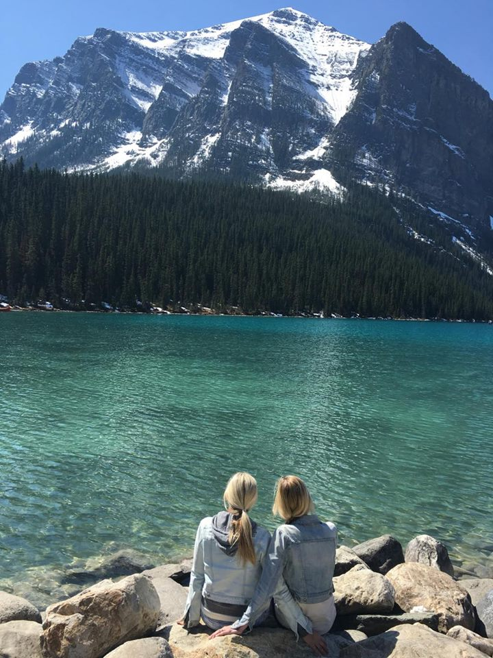 Lake Louise love- photo taken with the sun out