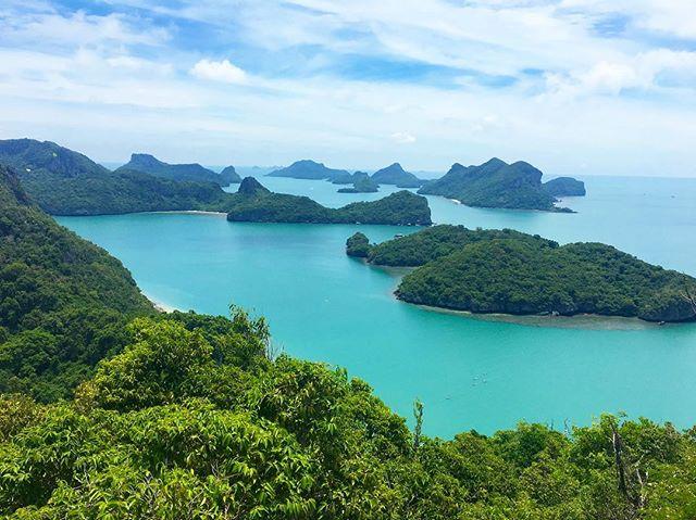 Thai views 🌴 #thailand #mukohangthong #islandlife #thaistagram