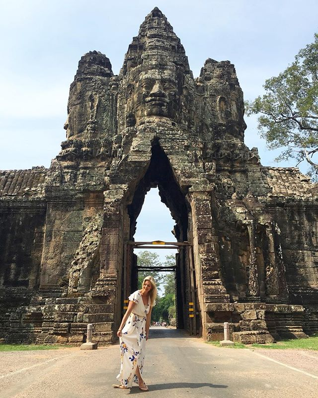 The kingdom of Cambodia 💞 #angkorwat #cambodia #travel #travelphotography