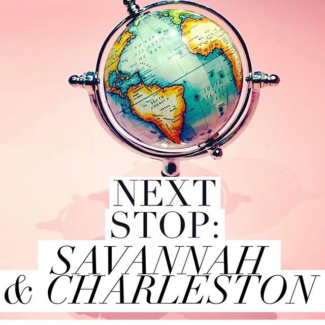 Headed south next week to enjoy some warmer weather and southern hospitality 🌴 Any recommendations welcome! #southcarolina #georgia #charleston #savannah