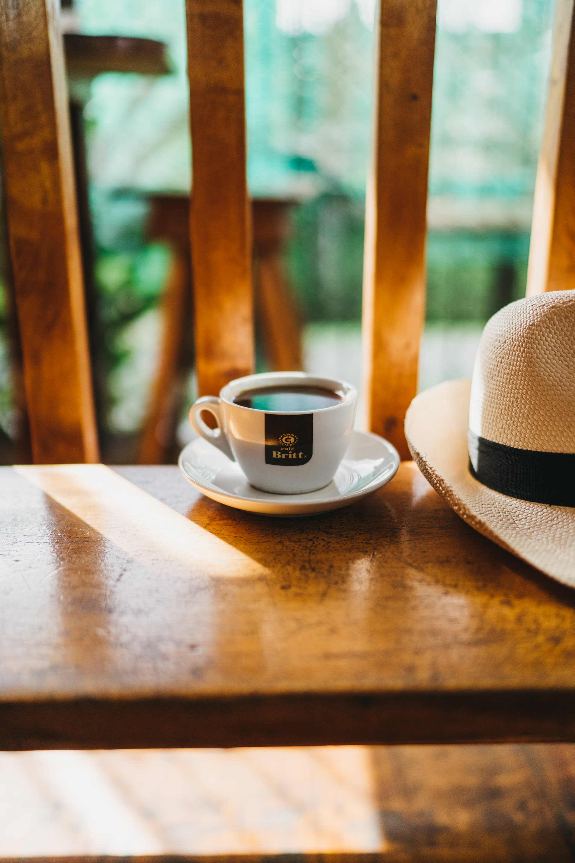 coffee britt and hat