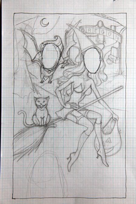 Sketch for board.
