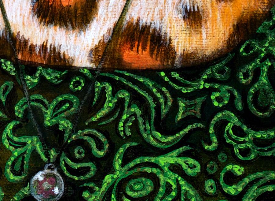 Detail of shirt.