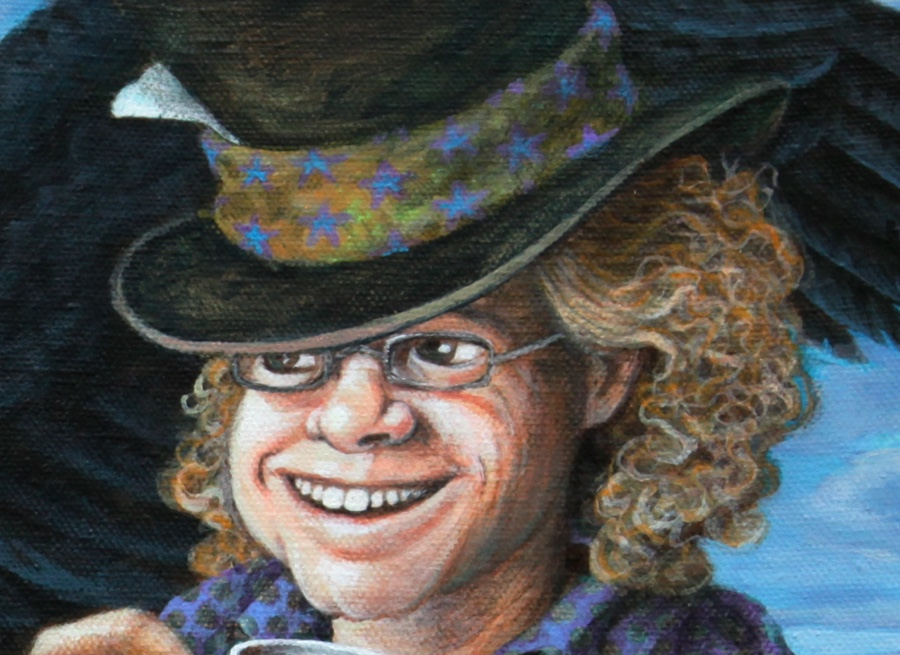 Detail of the Hatter.