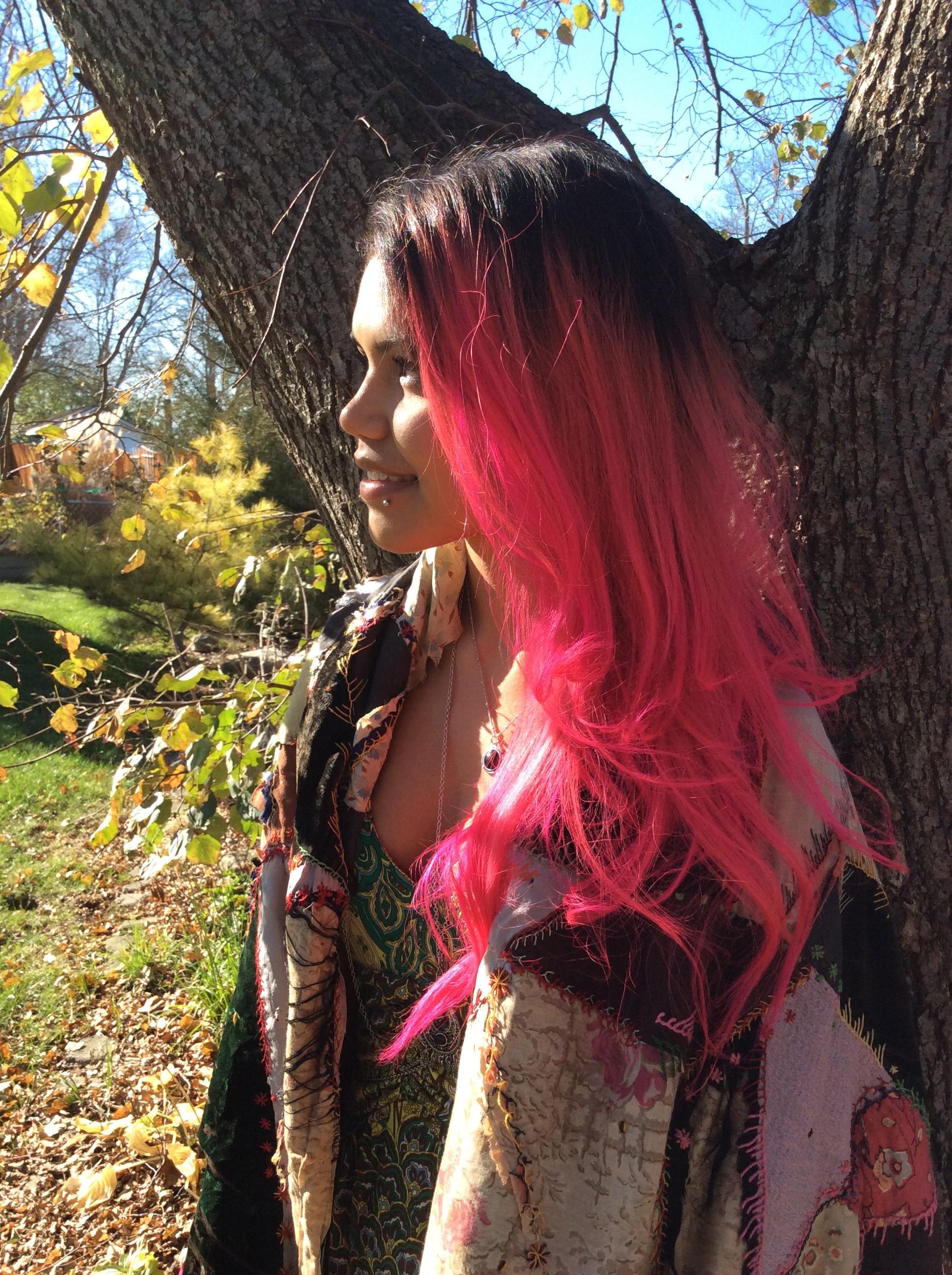 Arielle in the sun.