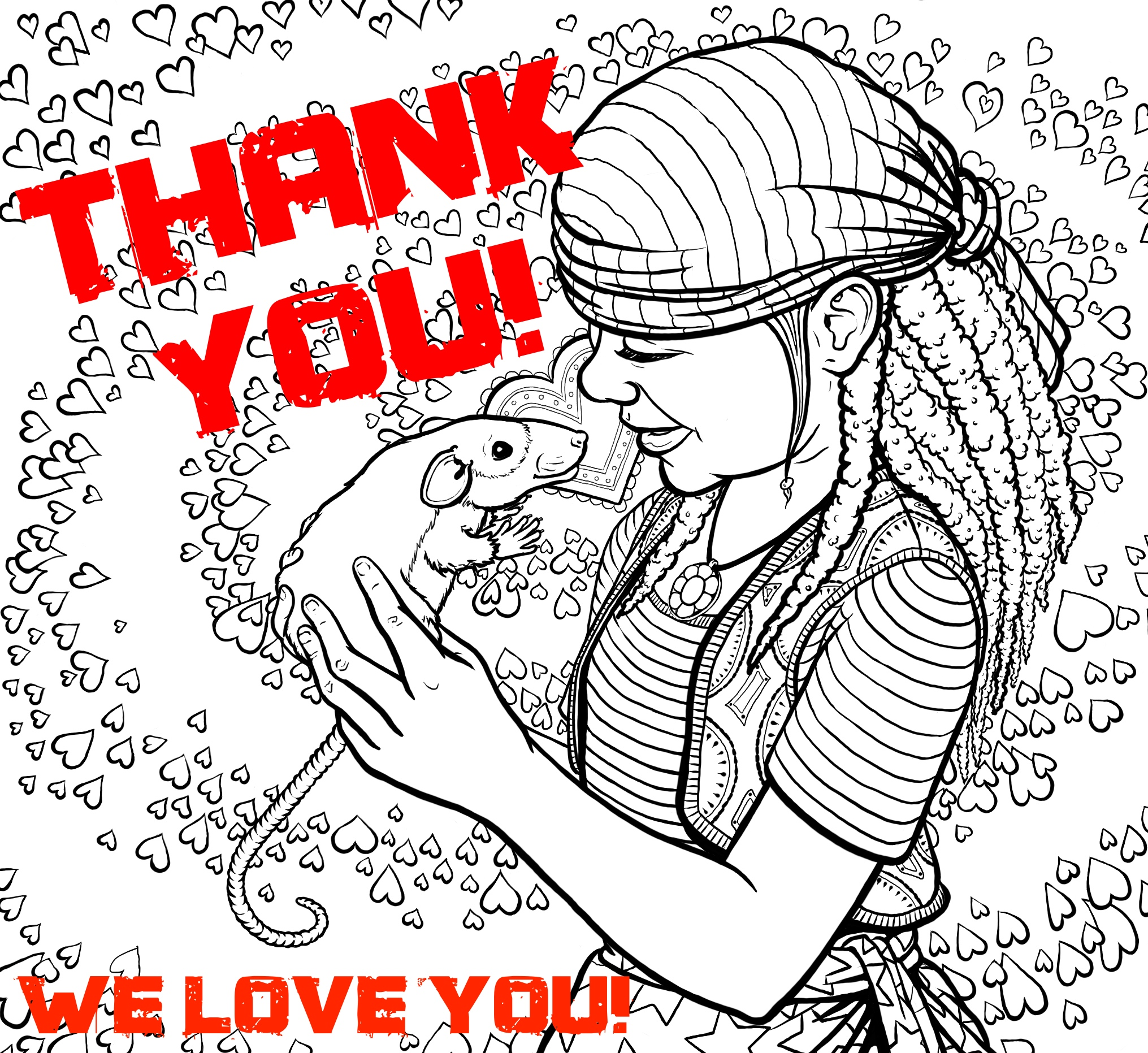 Thank you everyone who supported our project,  That Naughty Pipe ,on Kickstarter!  Rob Boley  and I are meeting tomorrow to discuss the next phase and pick the coloring contest winners!
