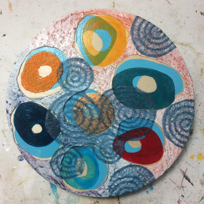 (A) Spiral rice paper.