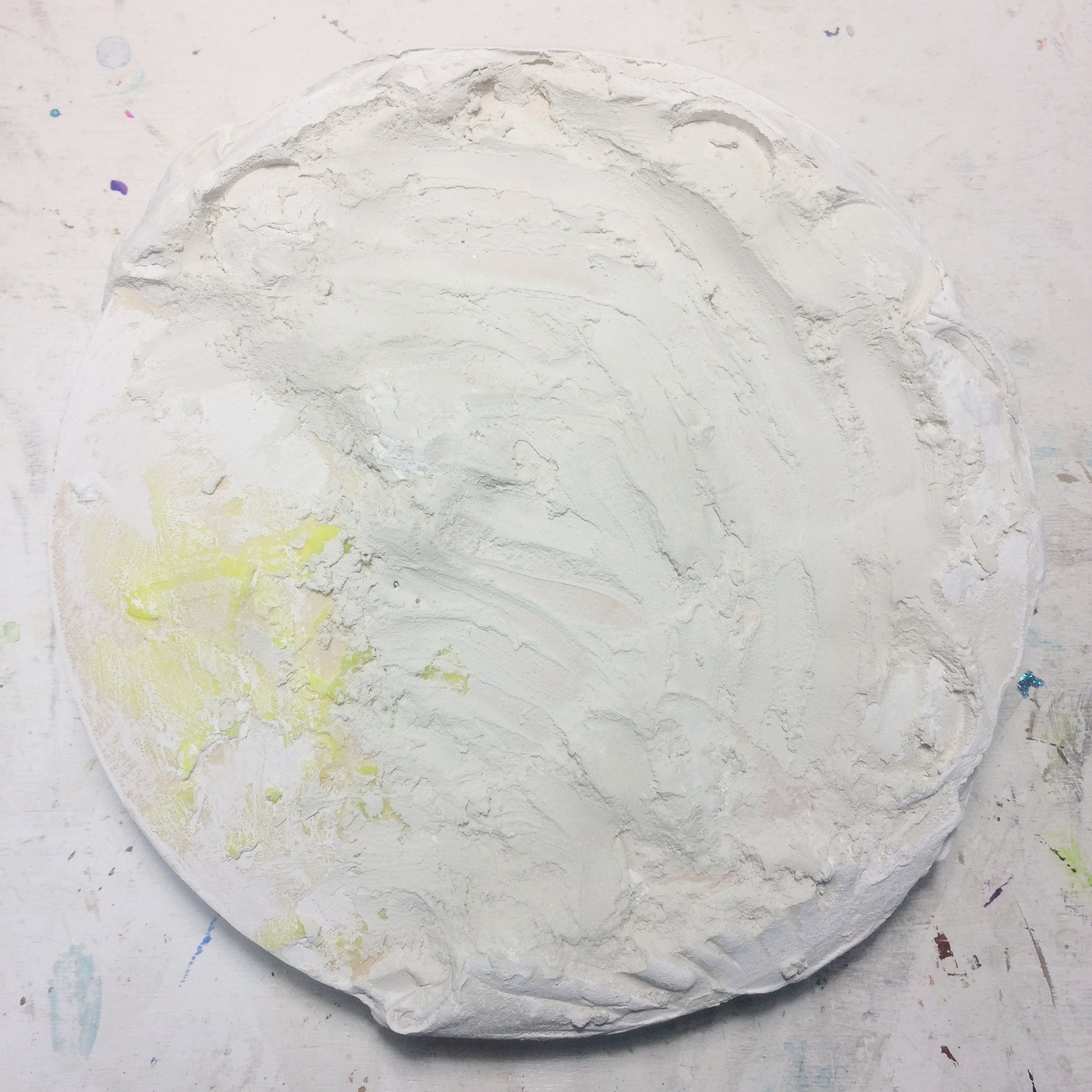 (A) Start, Moldy joint compound, house paint, latex.