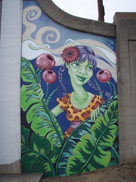 Garden Station Mural   • Dayton, OH • Wayne & 4th Street  Studio Images