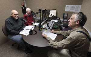 Radio KGAL Valley Talk Interview from 2016 with Dan Kress (left), John Donovan (center) and Jim Willhight (right)