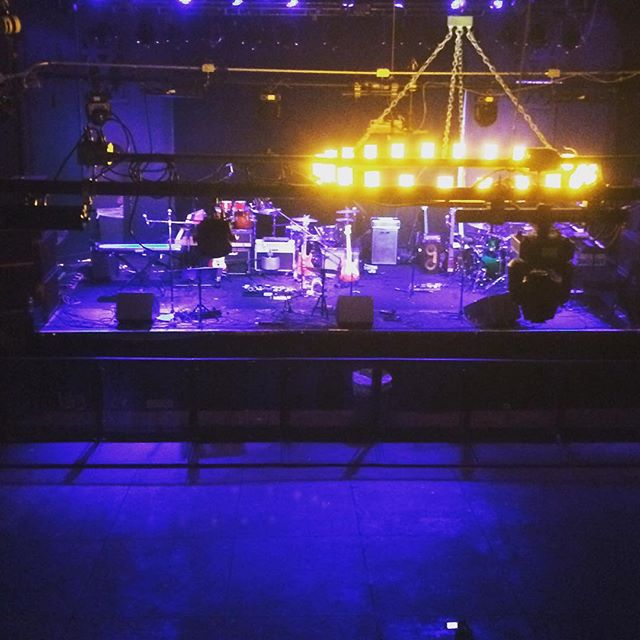 View from the #GreenRoom! Can't wait to play tonight!! #Wescott #Phish #StartMakingSense #LawnBoysNYC #band #tribute #jambands https://www.facebook.com/events/1434267273569483/
