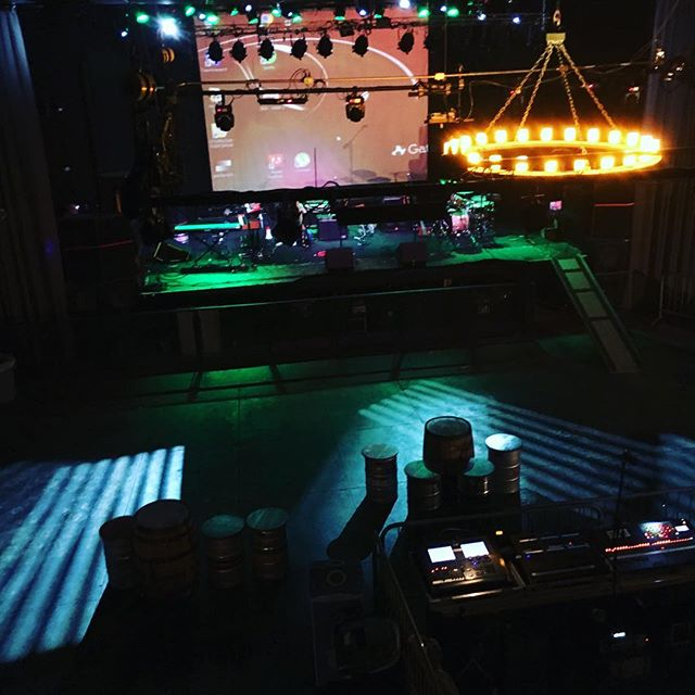 View from the green room! Hope to see you here Syracuse! #LawnBoysNYC #Phish #Tribute #Jambands #band #tweezer #freezer #live #music