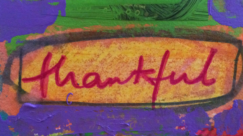 So very grateful.
