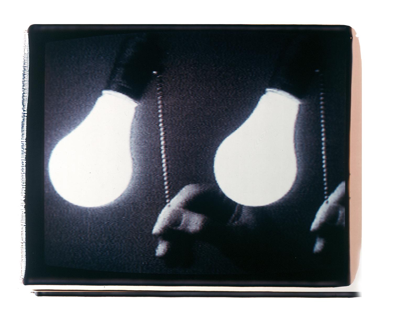 "Aura 2  Polaroid 20""X24"" 1989"