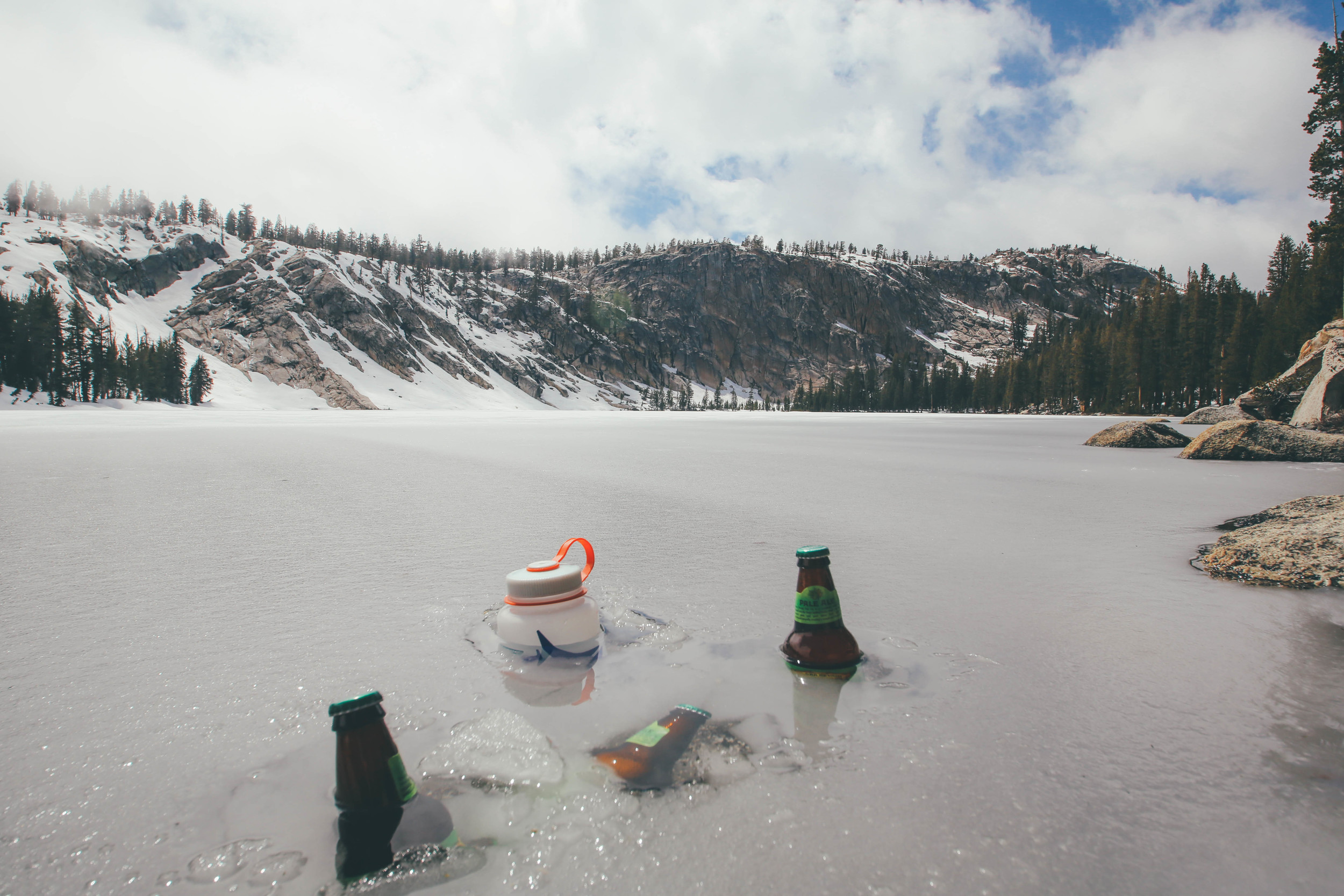 Neature's ice chest. Hard to beat.