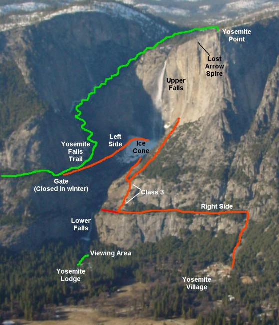 This will give you some idea of the route that the hike goes. See....so. many. switchbacks.