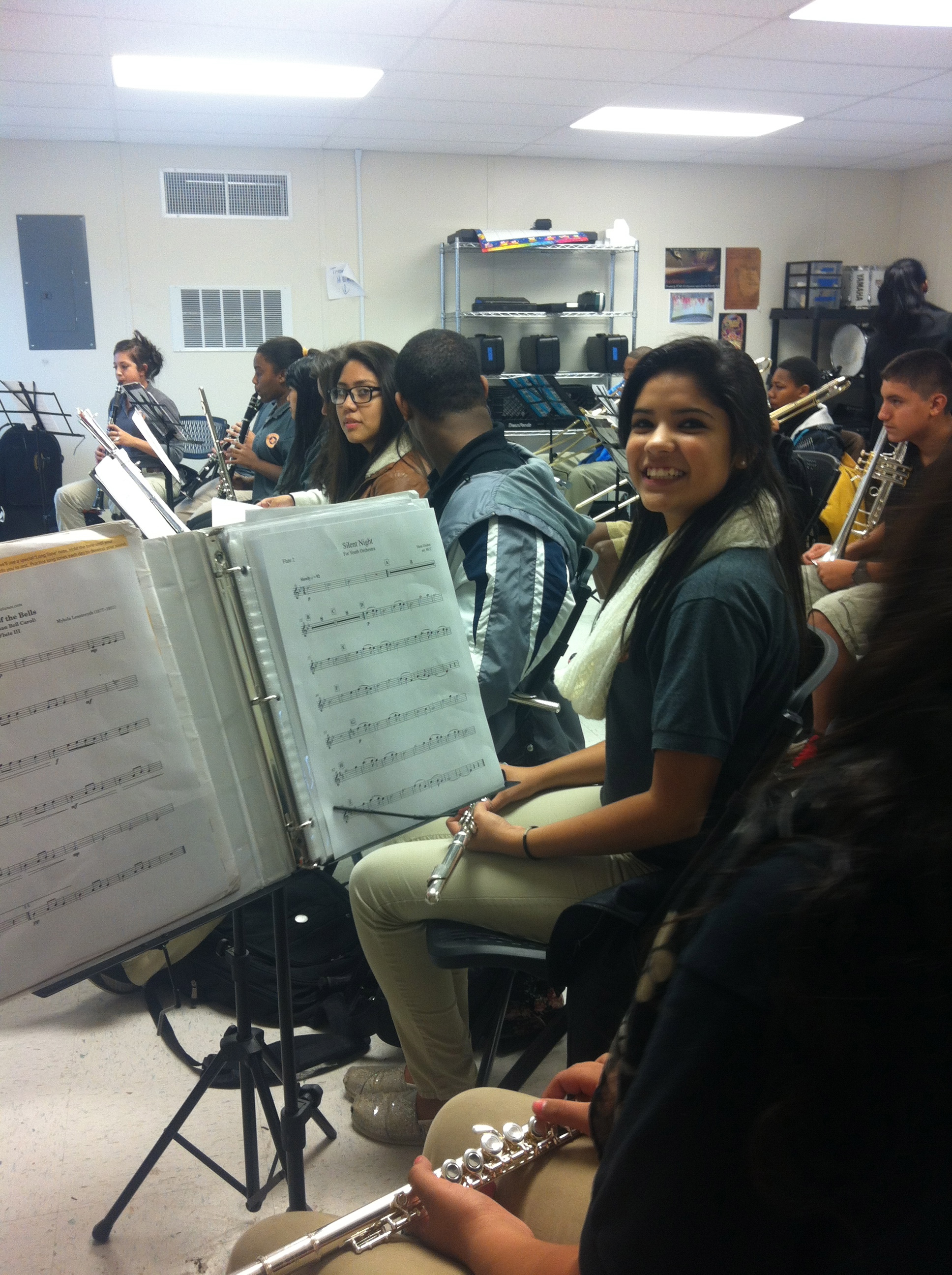 Austin Soundwaves students in rehearsal