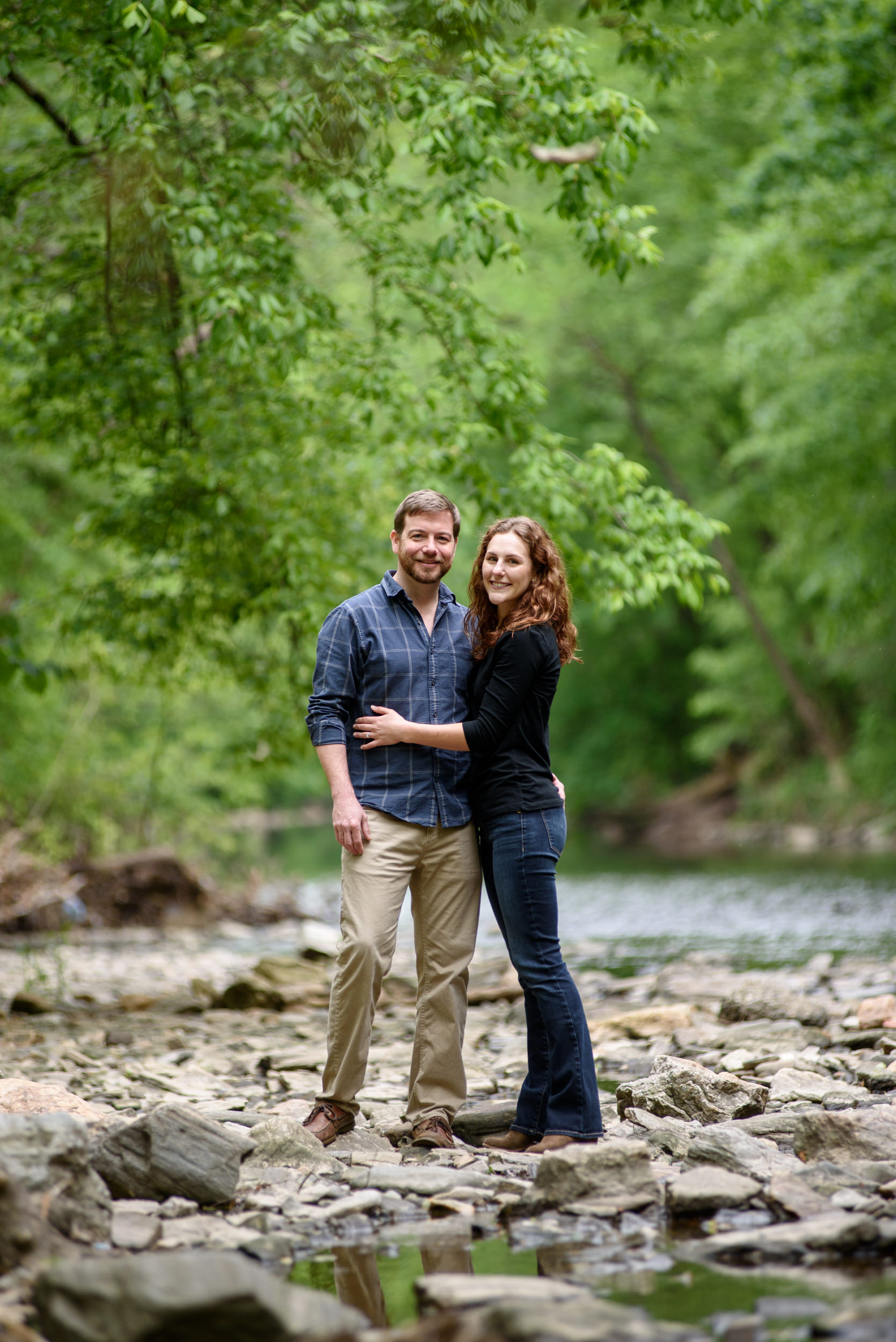 wissahickon-park-engagement-session