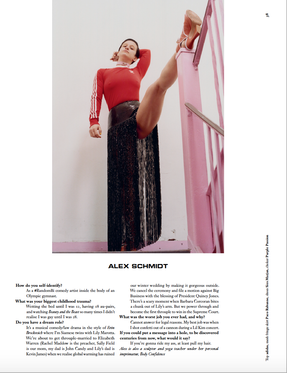 Interview by Patrik Sandberg for DAZED magazine. Photos by Hart + Leshkima.
