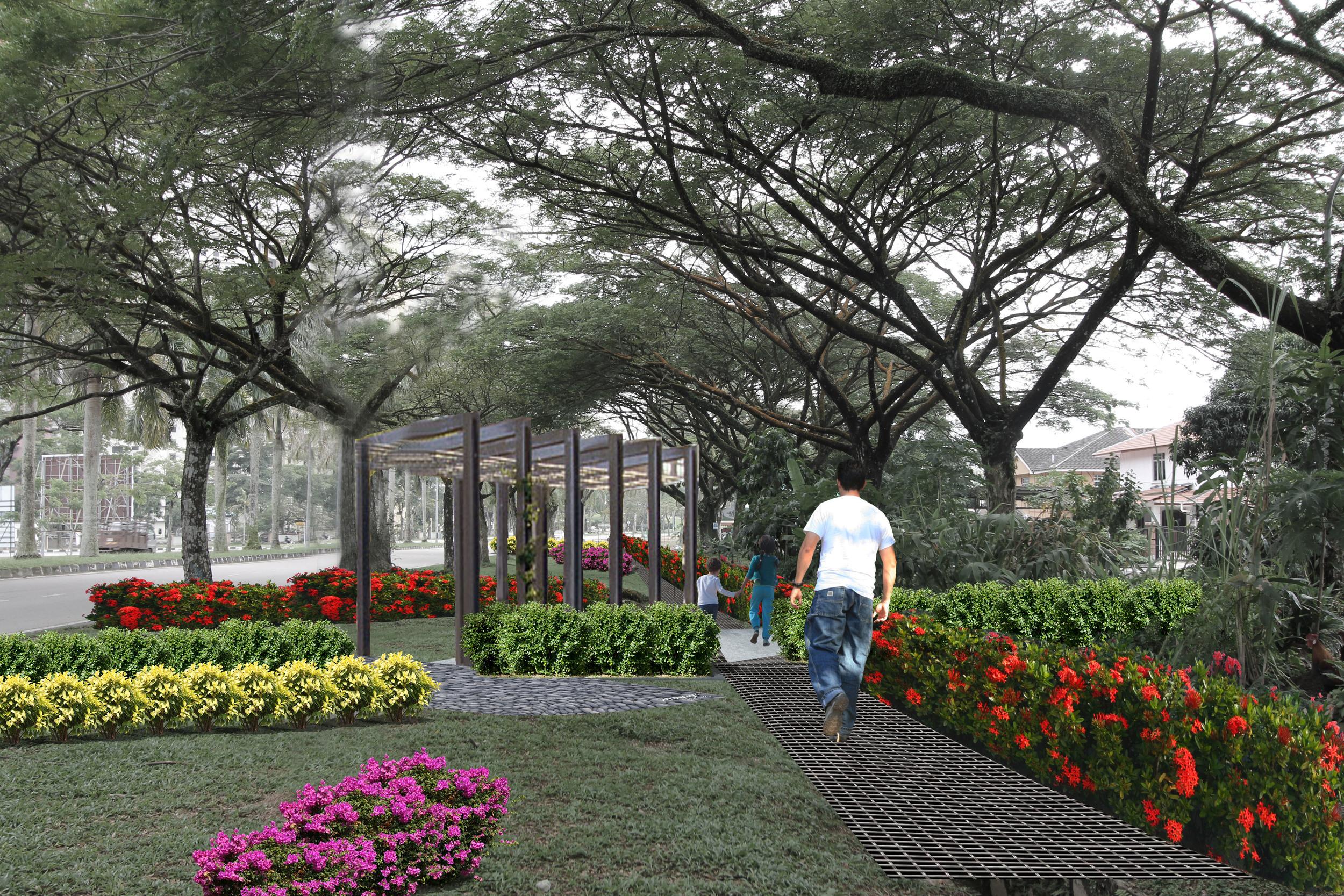 SERI ALAM URBAN REVITALISATION, JOHOR BAHRU, MALAYSIA - under construction