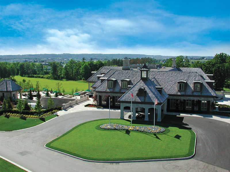 GOLF COURSE CLUBHOUSE, AURORA, ONTARIO, CANADA - completed 2003 - with McCasey Group