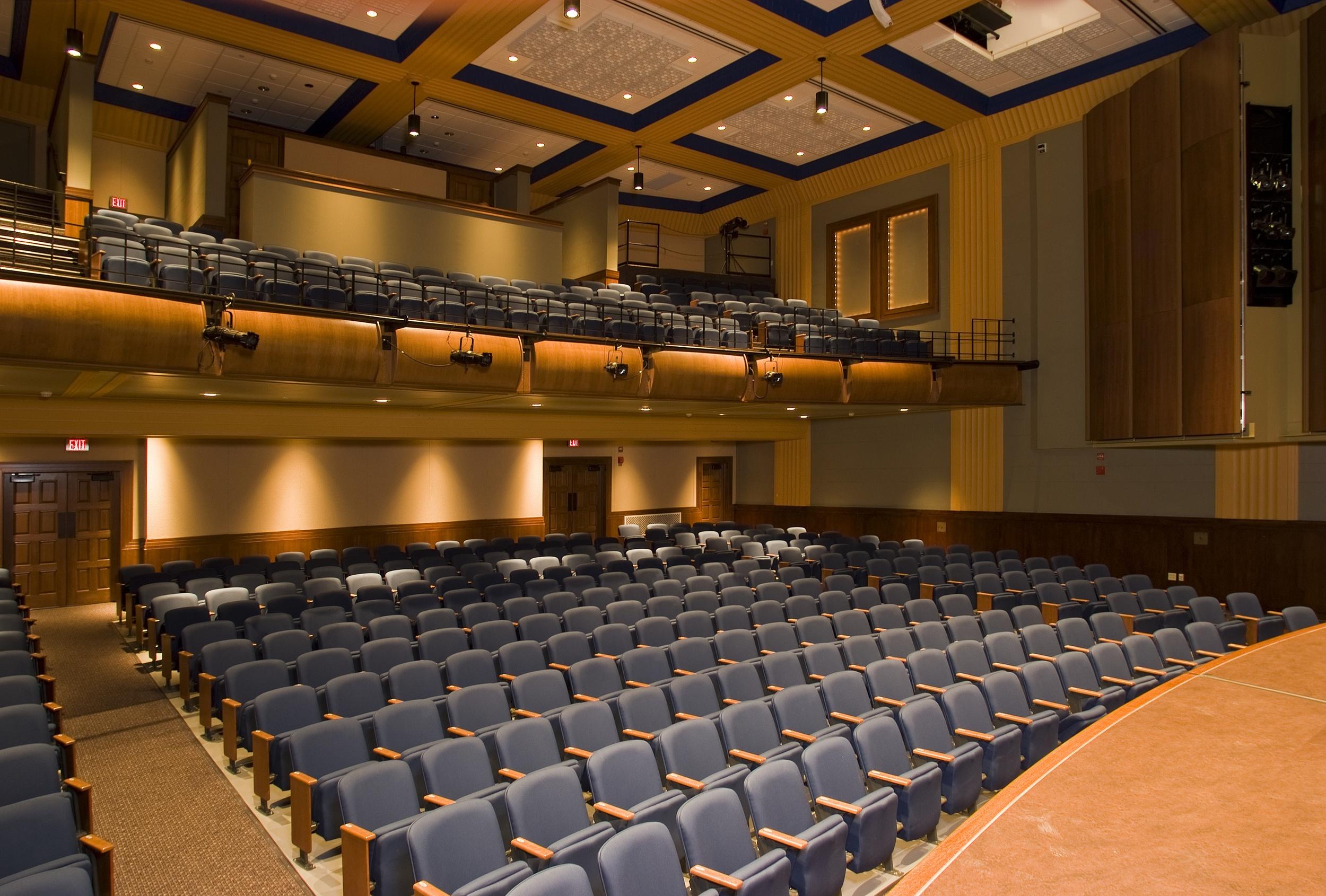 Indiana State University College of Education Auditorium