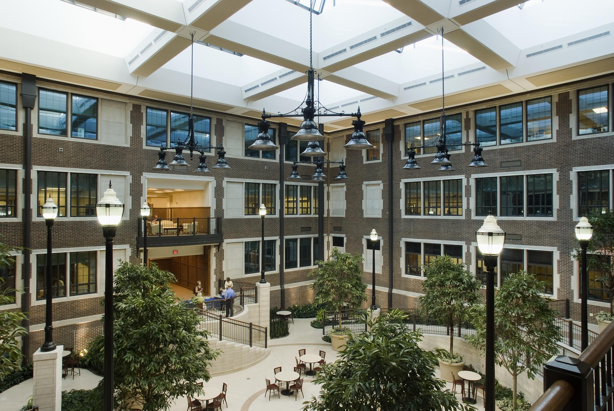 Indiana State University College of Education Atrium