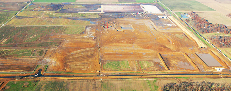 Mid Western Utility - Site Work Package for new power plant