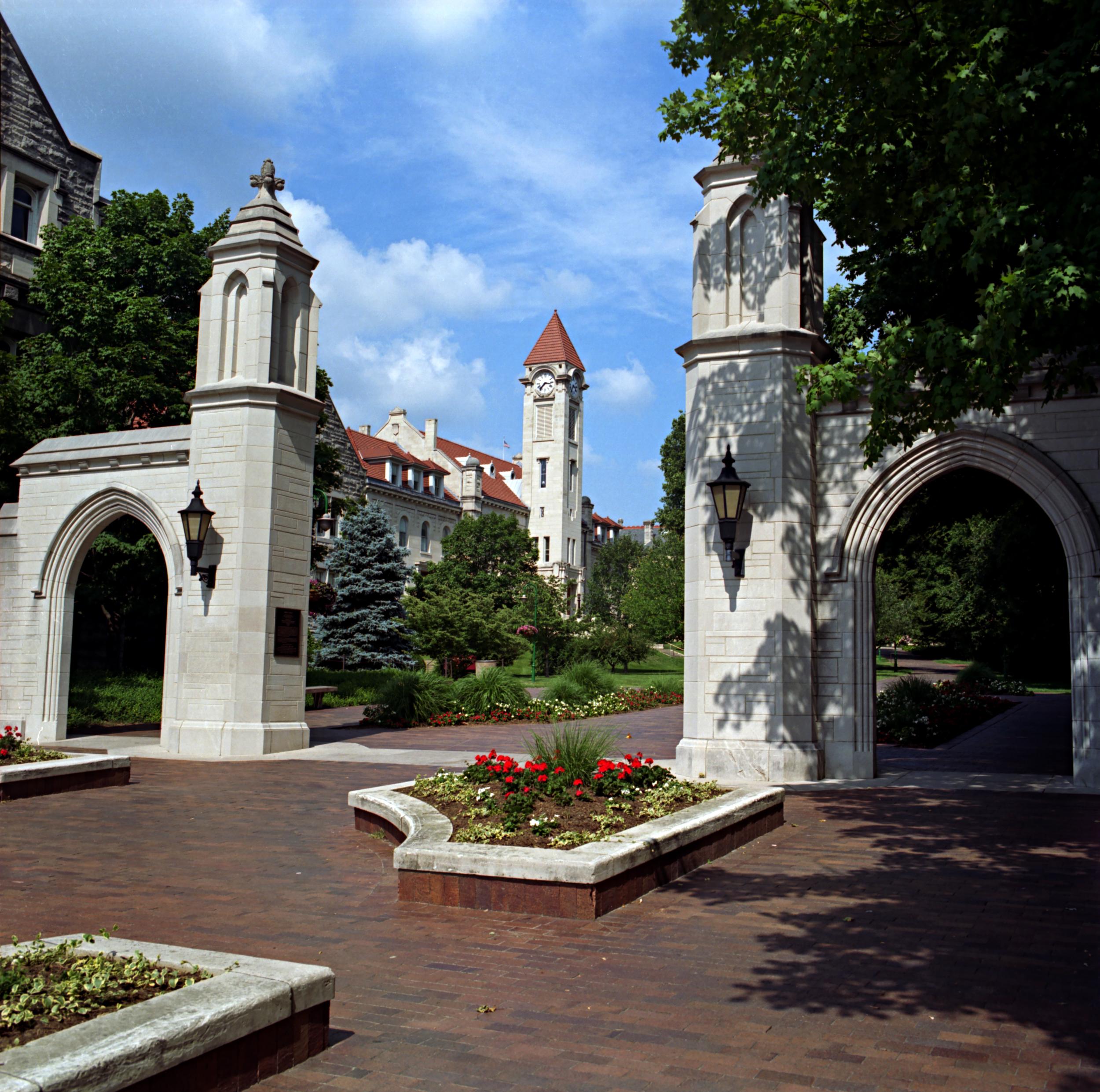 Indiana University - Sample Gates