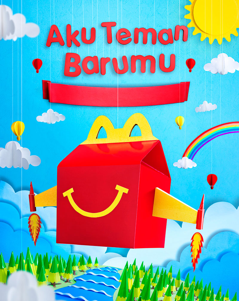 McDonalds paper project