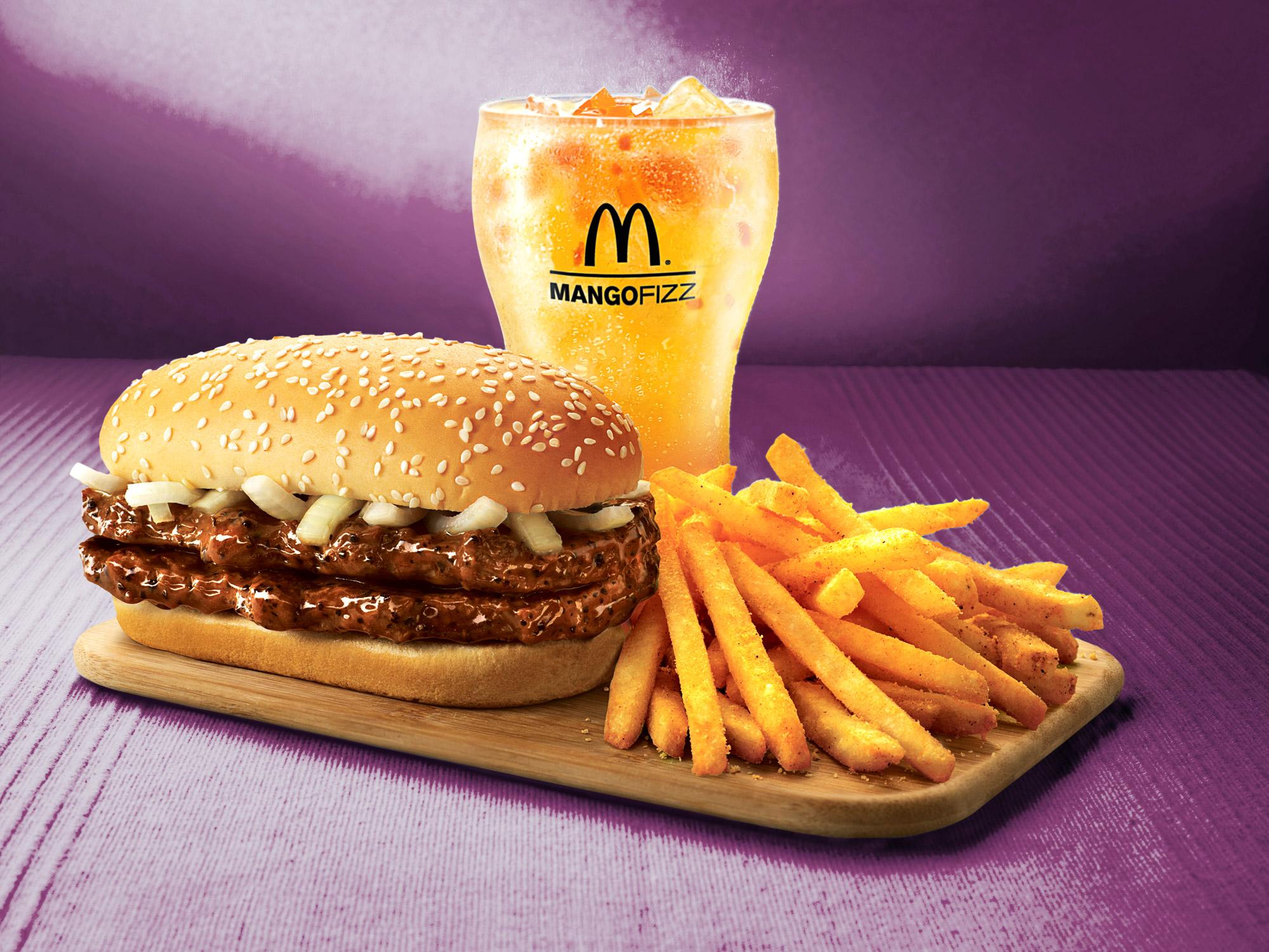 Double Prosperity Burger