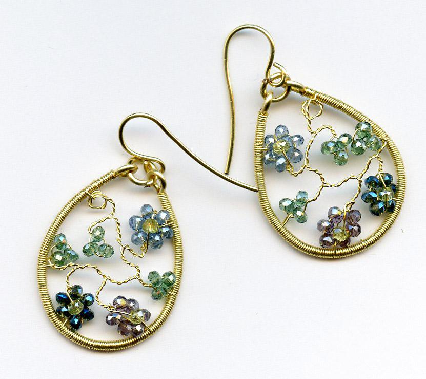 Twisted Wire Earrings or Sweet Heart Pendant