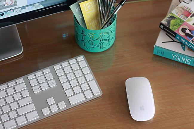 My workspace desktop