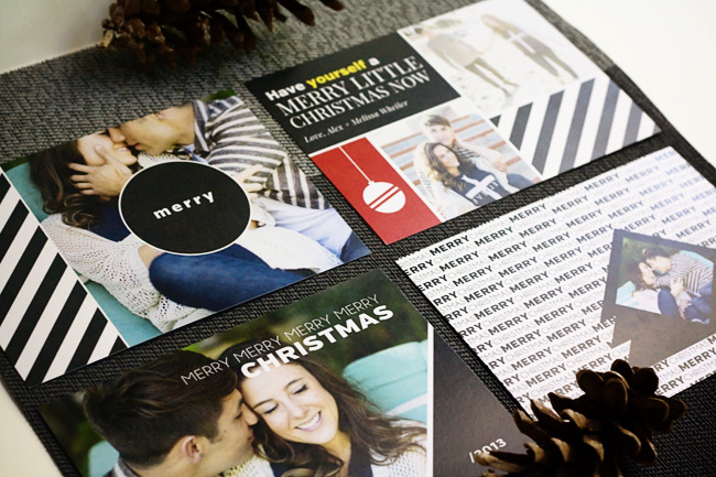 Holiday Card Templates by Laurie cosgrove