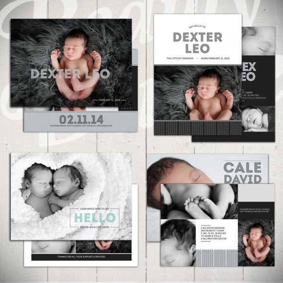 baby announcement templates - midnight song
