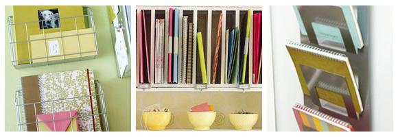 Notebook Storage Solutions
